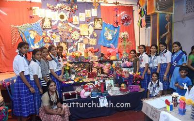 Puttur: St Victor Girl's High School holds educational tools exhibition