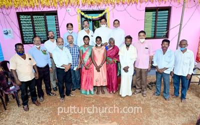 Newly built house of Mrs Josephine Dias inaugurated and blessed