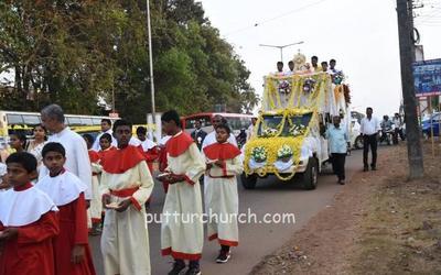 Confraternity Sunday celebrated : Mai De Deus Church, Puttur