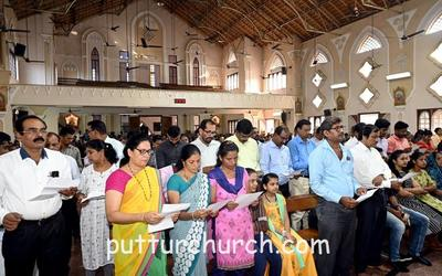 Oath taking of new Parish Pastoral Parishad